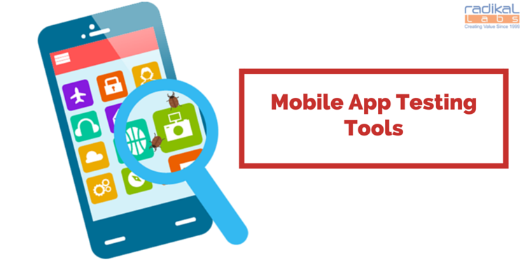 mobile app test tools