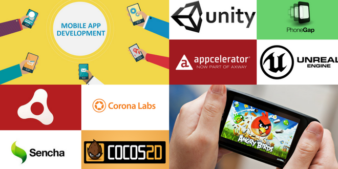 cross platform tools for mobile apps and game development