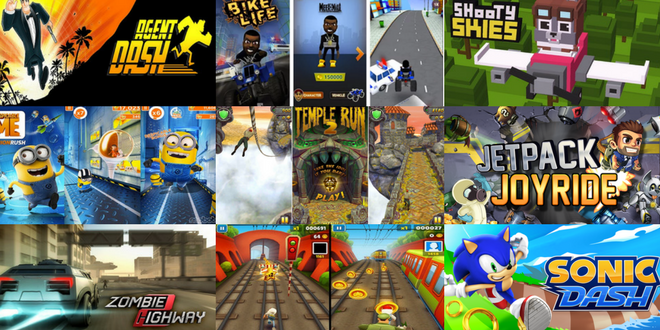 top ten running games for android